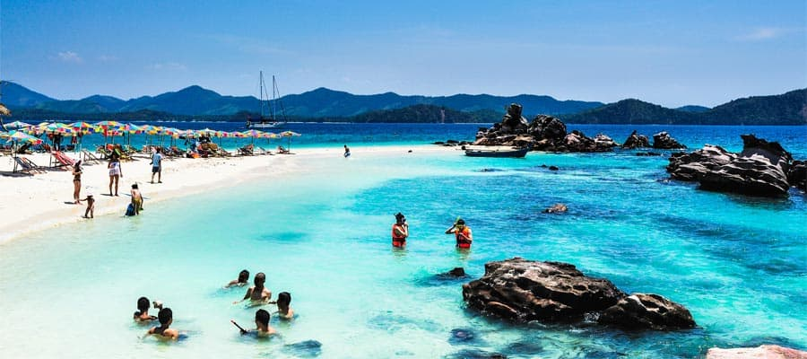 Beautiful beaches on your Phuket Cruise