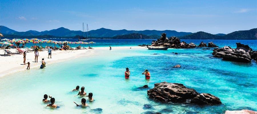 Playas hermosas en tu crucero a Phuket