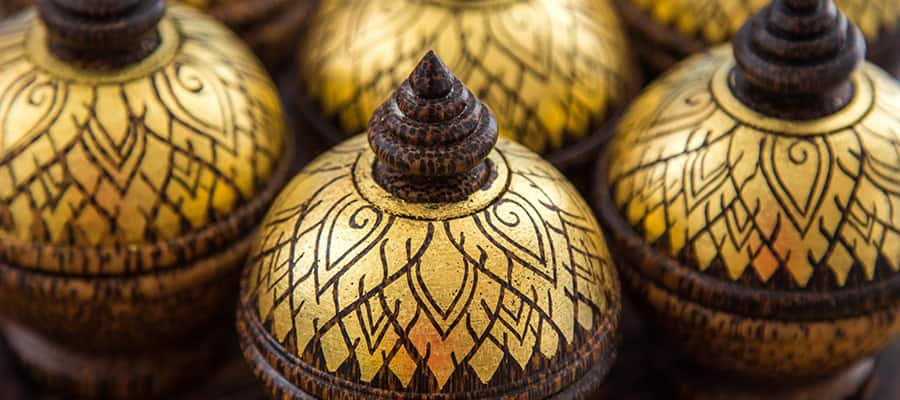 Pick up some traditional Thai souvenirs on your cruise to Phuket