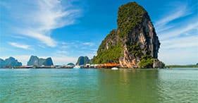 Extraordinaire baie de Phang Nga
