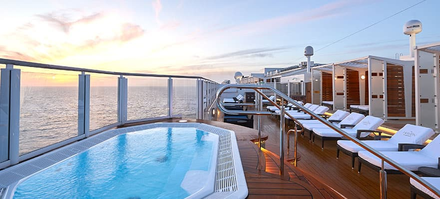 Take in the views from the Haven Sun Deck.
