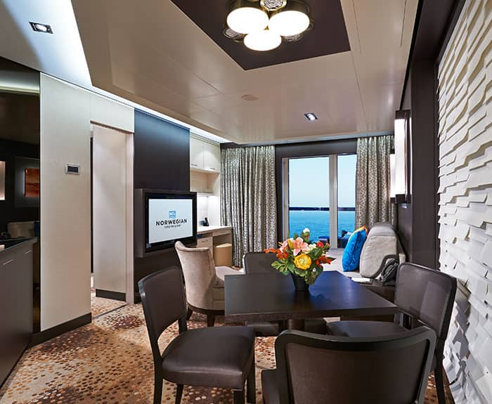The Haven's 2-Bedroom Family Villa with Balcony on Norwegian Escape