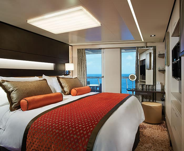 The Haven's Aft-Facing Penthouse on Norwegian Escape