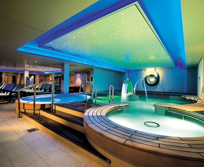 The Haven's Thermal Suite en el Norwegian Epic