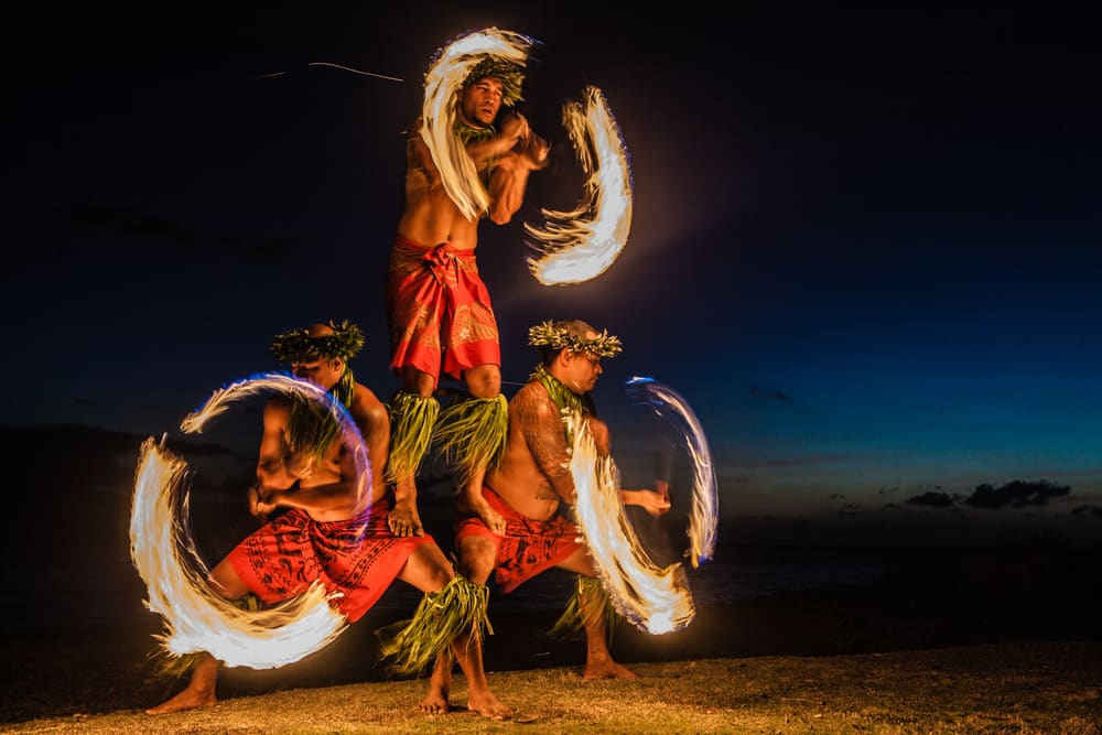 Experience a Hawaiian Luau on a Honeymoon Cruise