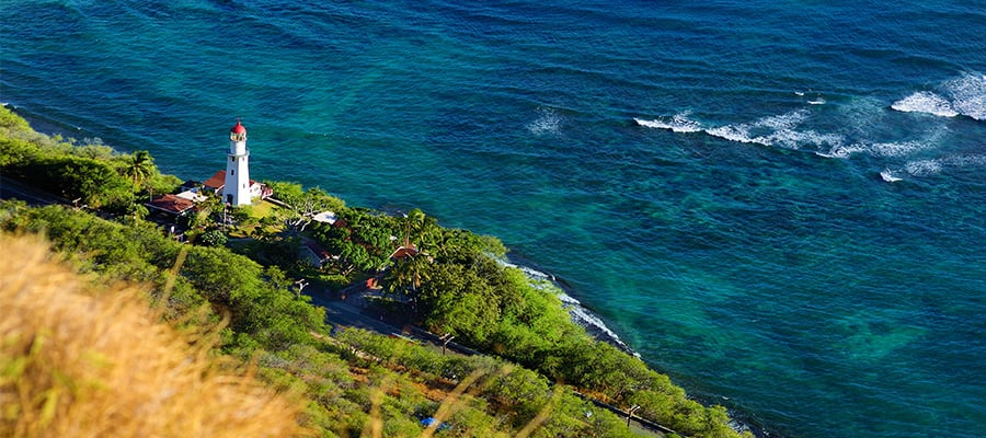 Diamond Head Lighthouse on your Hawaii cruise