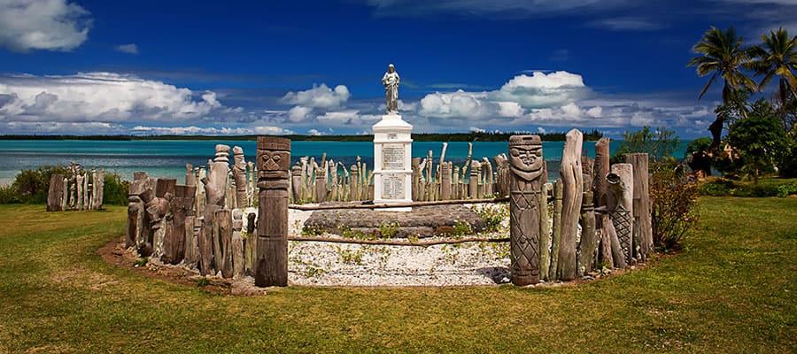 Denkmal auf den Kieferninseln