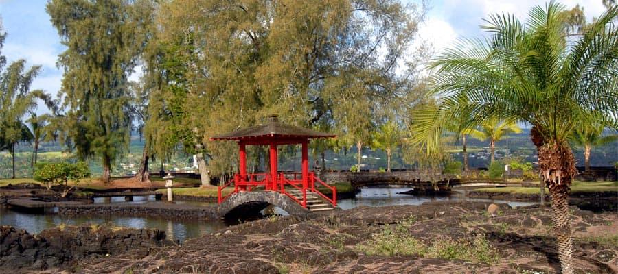 Liliuokalani-Gärten auf Ihrer Hawaiikreuzfahrt