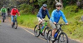 Kilauea Volcano Biking
