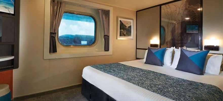 Camarote con vista al mar limitada