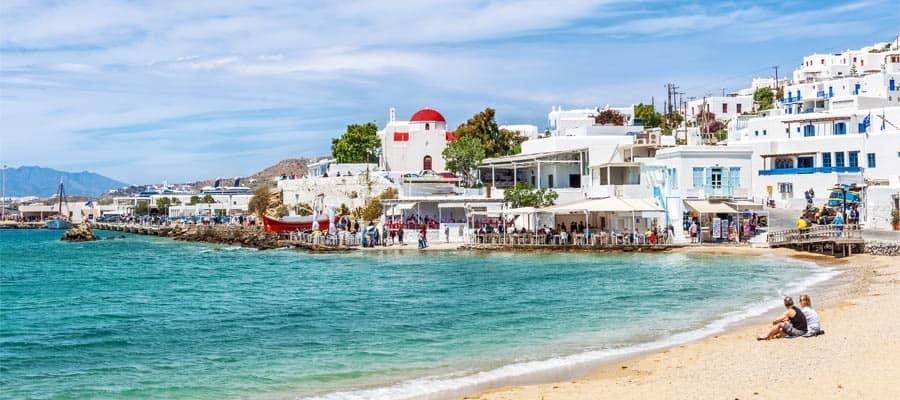 Mykonos Port Stop Europe Cruises Norwegian Cruise Line