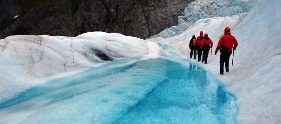 Wandern Sie durch Gletscher auf einer Kreuzfahrt nach Juneau