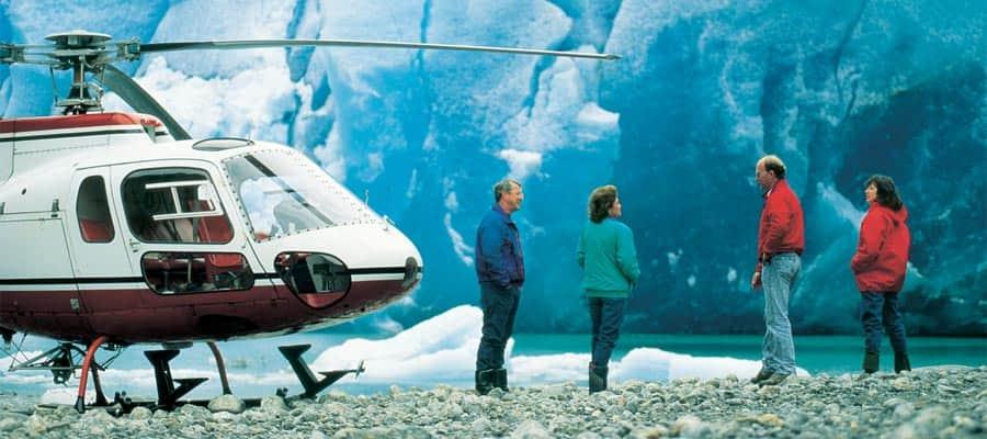 Acércate a la naturaleza en cruceros por Alaska