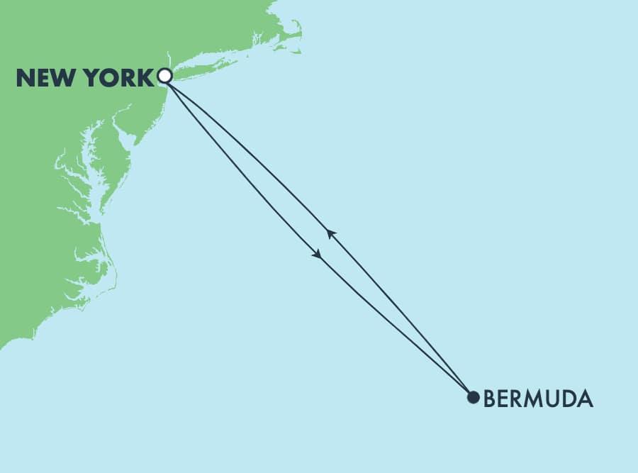 7-Day Bermuda Round-trip New York