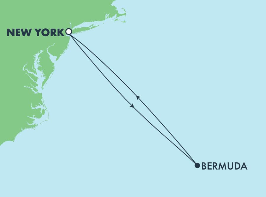 5-Day Bermuda Round-trip New York