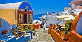 Charming Oia Village