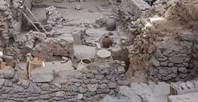 Antigua Akrotiri y cata de vinos