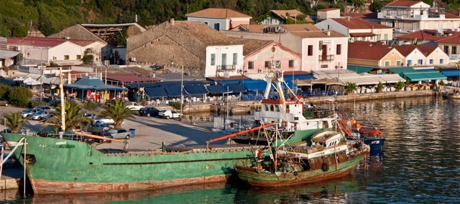 Katakolon Olympia Greece Cruise Port of Call