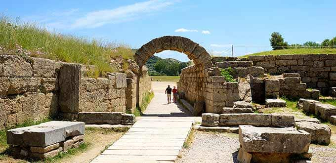 Olympia Katakolon Greece Olympia Greek Flavors Excursion