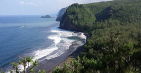 Kona Black Sand Beach Hike