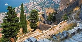 Wanderung auf die Stadtmauern