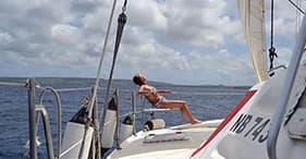 Tour in catamarano e nuotata