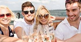 Crociera Champagne Fun e snorkeling deluxe