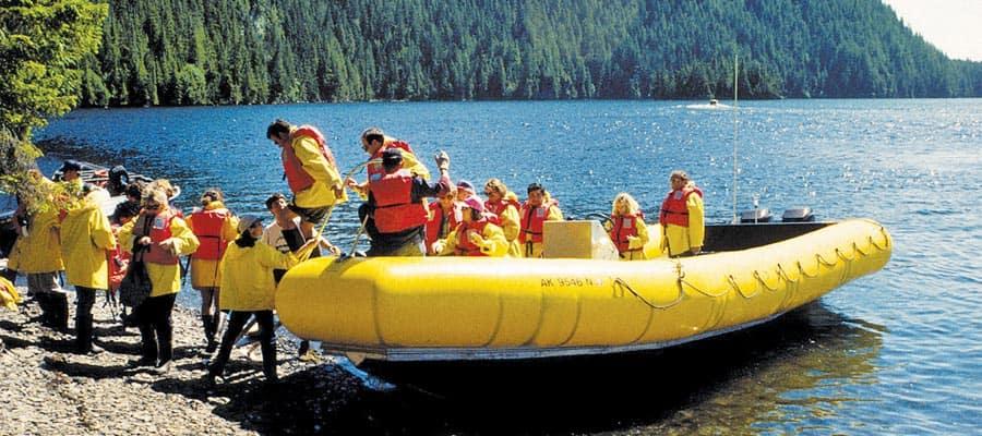 Landausflug Naturabenteuer Regenwald während Ihrer Alaskakreuzfahrt
