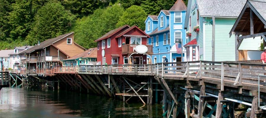 Shop a little on Creek street when you cruise to Alaska
