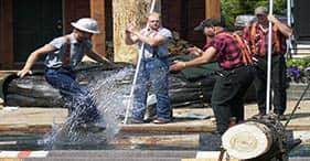 Totem Bight State Park & Lumberjack Show