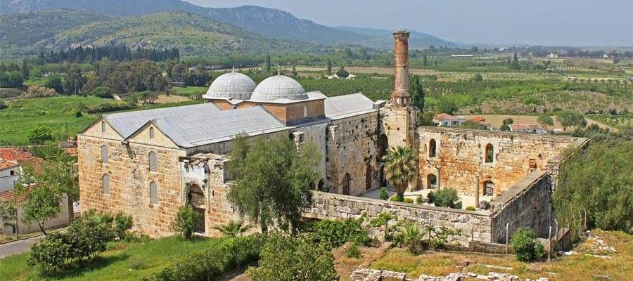 Isa Bey Mosque on your Turkey cruise