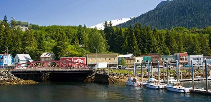 Enjoy peace and serenity in Ketchikan, Alaska.