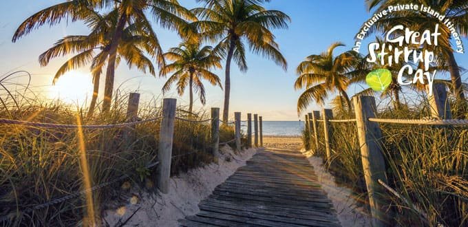 Follow the path to paradise in Key West