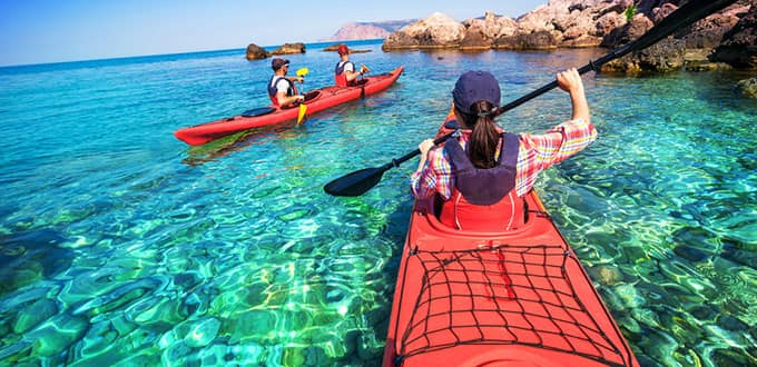 While in Kralendijk try an exhilirating glass-bottom kayaking adventure