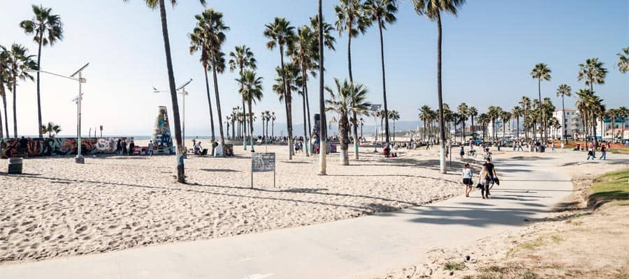 Venice Beach on a Los Angeles cruise