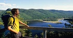 Hiking Saguenay National Park