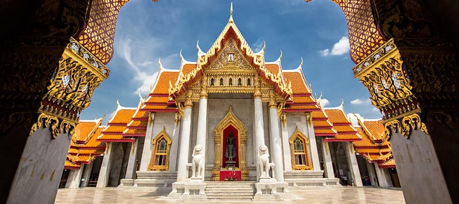 Wat Benchamabophit Temple on your Laem Chabang Cruise