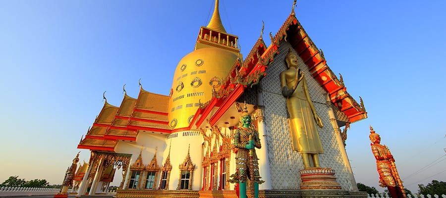Wat Prong Arkard on Cruises to Laem Chabang