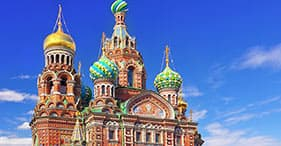 Spilled Blood Cathedral & Hermitage