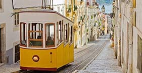 Explore the Heart of Lisbon on Foot & Gloria Funicular