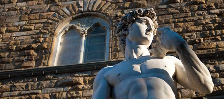 David di Michelangelo a Firenze, Italia