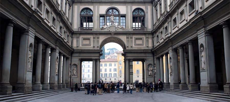 גלריית אופיצי בשייט שלכם לאירופה