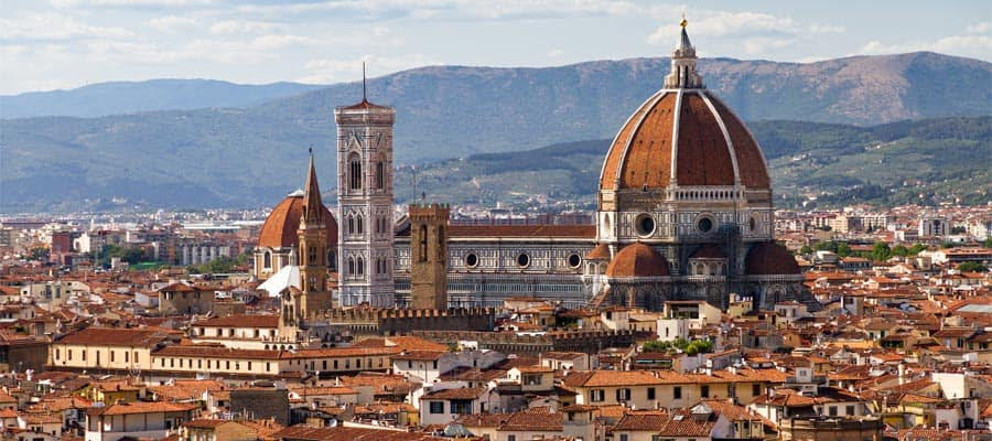 Cruise to the Cityscape of Florence on your Europe holiday
