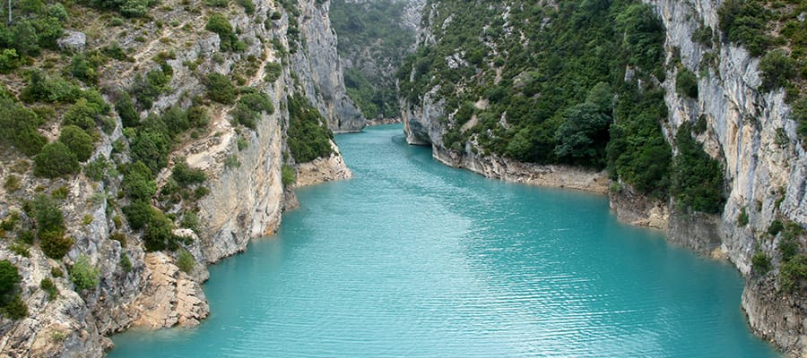 Verdon Gorge on your Cruise holiday