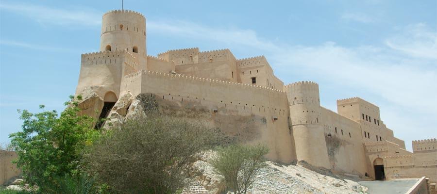 Le fort Nakhal lors de votre croisière à Mascate