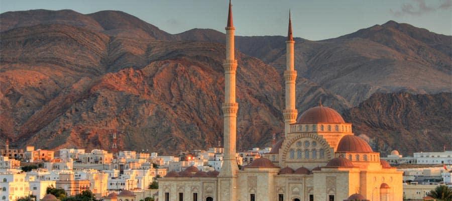 Découvrez la grande mosquée de Mascate