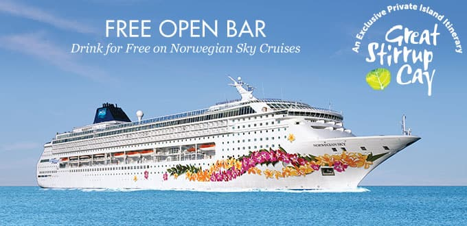 Norwegian Cruise Line 4-Night Bahamas Cruise for Two