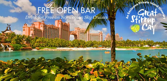 3 Day Bahamas From Miami Free Open Bar Norwegian