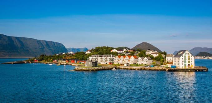 Fjords norvégiens au départ de Hambourg, 7 jours (variante)