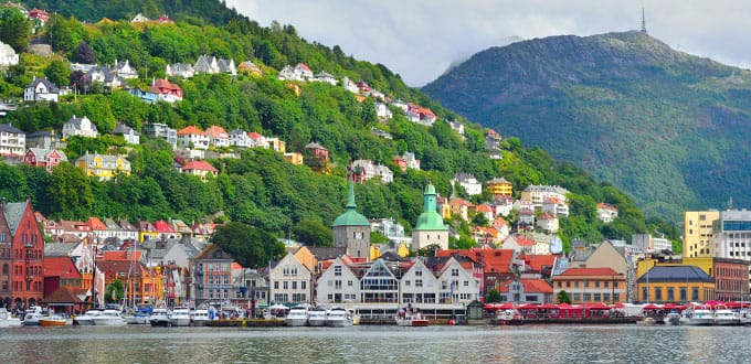 9-Day Norwegian Fjords from London (Southampton)